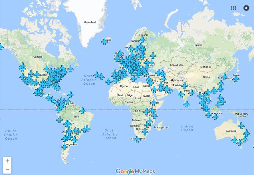 Wi-Fi Password di Airport Seluruh Dunia Dalam Satu Maps