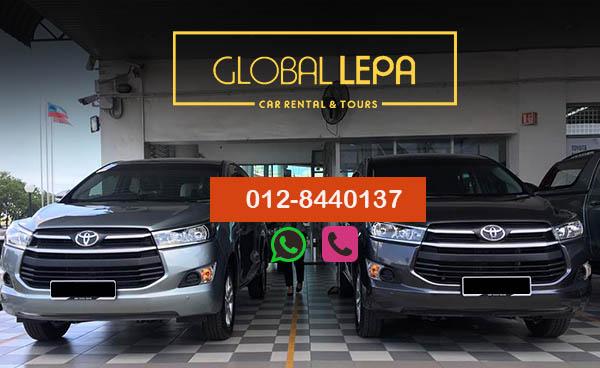 Sewa Van Kota Kinabalu 2017