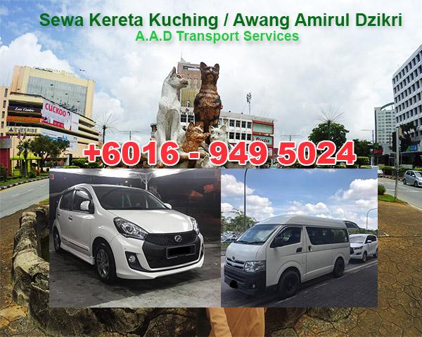 Kereta Sewa Kuching 2018 – Murah