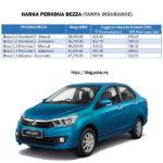 Harga Perodua BEZZA 2018 SST