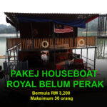 Pakej Houseboat Royal Belum