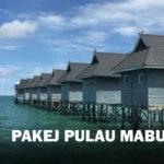 Pakej Pulau Mabul Semporna