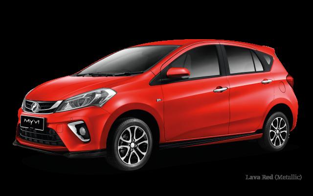 Harga Perodua MYVI 2018
