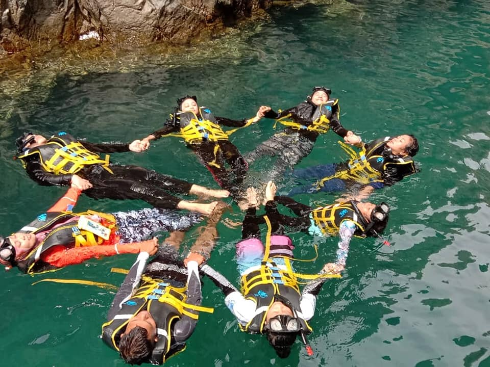 Pakej Snorkeling Day Trip Pulau Mersing