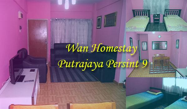 Homestay Putrajaya Presint 9 – Murah & Strategik