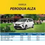 Harga Perodua Alza Terkini