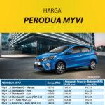 Harga Perodua Myvi Biru 2020