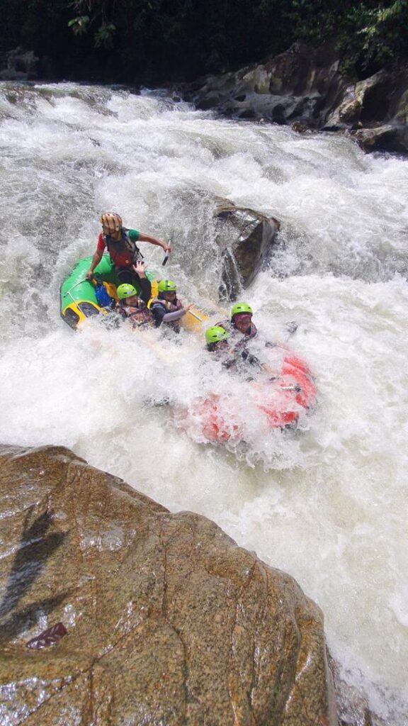 Water Rafting di Gopeng